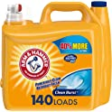 Arm & Hammer Clean Burst Liquid Laundry Detergent (210oz, 140 loads)