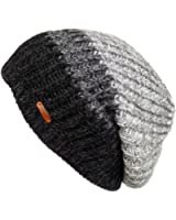 LETHMIK Unique Slouchy Beanie Unisex Mix Knit Skully Hat Ski Cap in 3 Colors