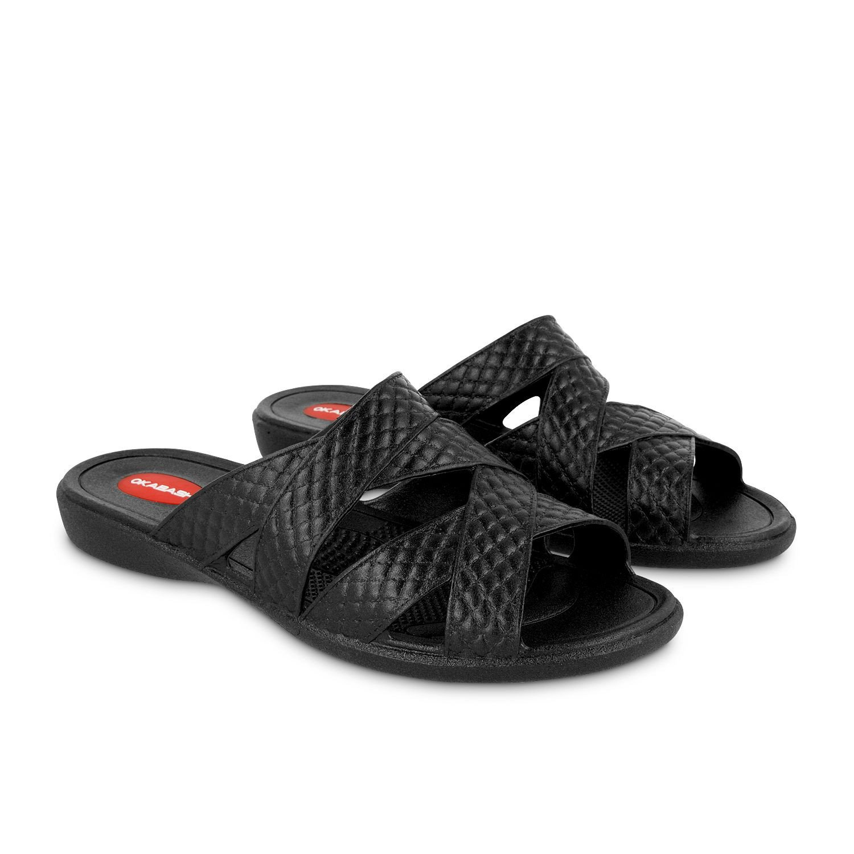 8e9df1dace207 Okabashi Women s Cross Strap Flip Flops - Sandals