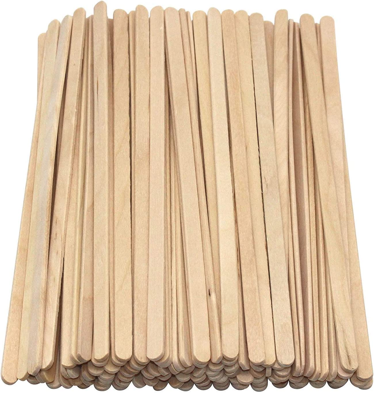 Wooden Round Head Hot Drinks Tea Coffee Hot Chocolate Stirrers For Party Eco-Friendly 100/% Natural Biodegradable Compostable Recyclable We Can Source It Ltd Home-7.5inch//19cm Cafe 8000 Pack