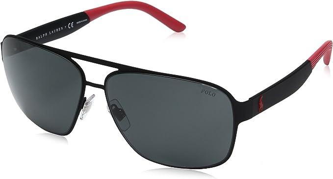 Ralph Lauren POLO 0PH3105 Gafas de sol, Rubber Black, 62 para ...