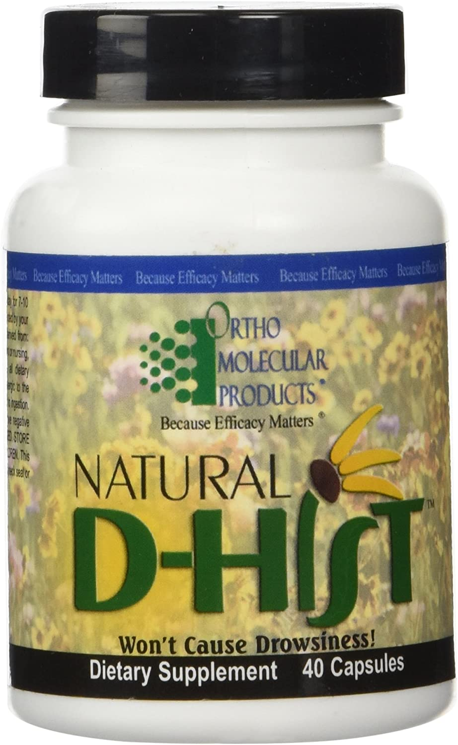 Ortho Molecular – Natural Dhist 40 capsules