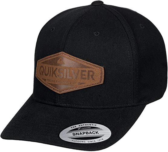 Quiksilver - Gorra con Ajuste Posterior a Presión - Hombre - One ...