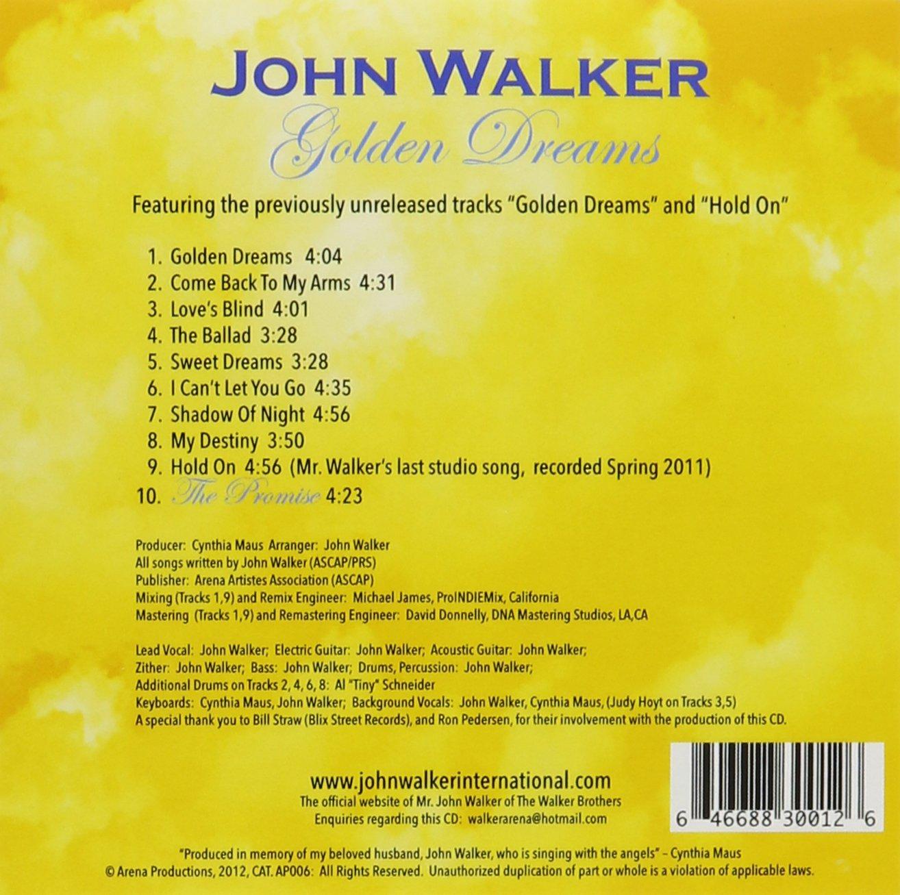 Golden Dreams: John Walker: Amazon.es: Música