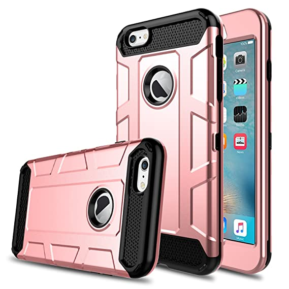 Full Armor Case For Apple Iphone 6 6s Heavy Duty Hybrid Cover 100% Guarantee Cell Phone Accessories Cell Phones & Accessories