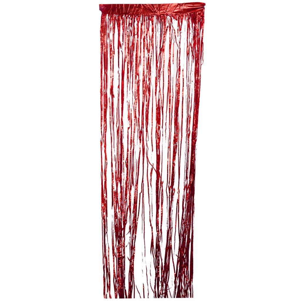 MagiDeal Shiny Tinsel Foil Fringe Door Window Curtain Wedding Party Decoration - Gold, Approx.200 x 60cm/78.74 x 23.62 inch STK0156004025