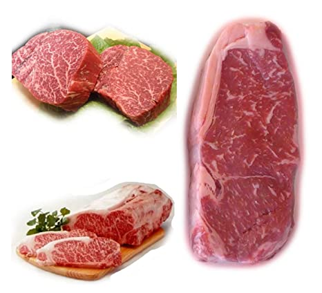 wagyu Asar a la parrilla Pack- Kobe Filetes de carne de ...