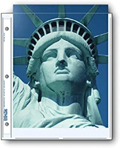 Print File Archival Photo Pages Holds Two 8.5x11