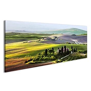 islandburner Quadri Moderni Paesaggio Toscano all\'alba tipica ...