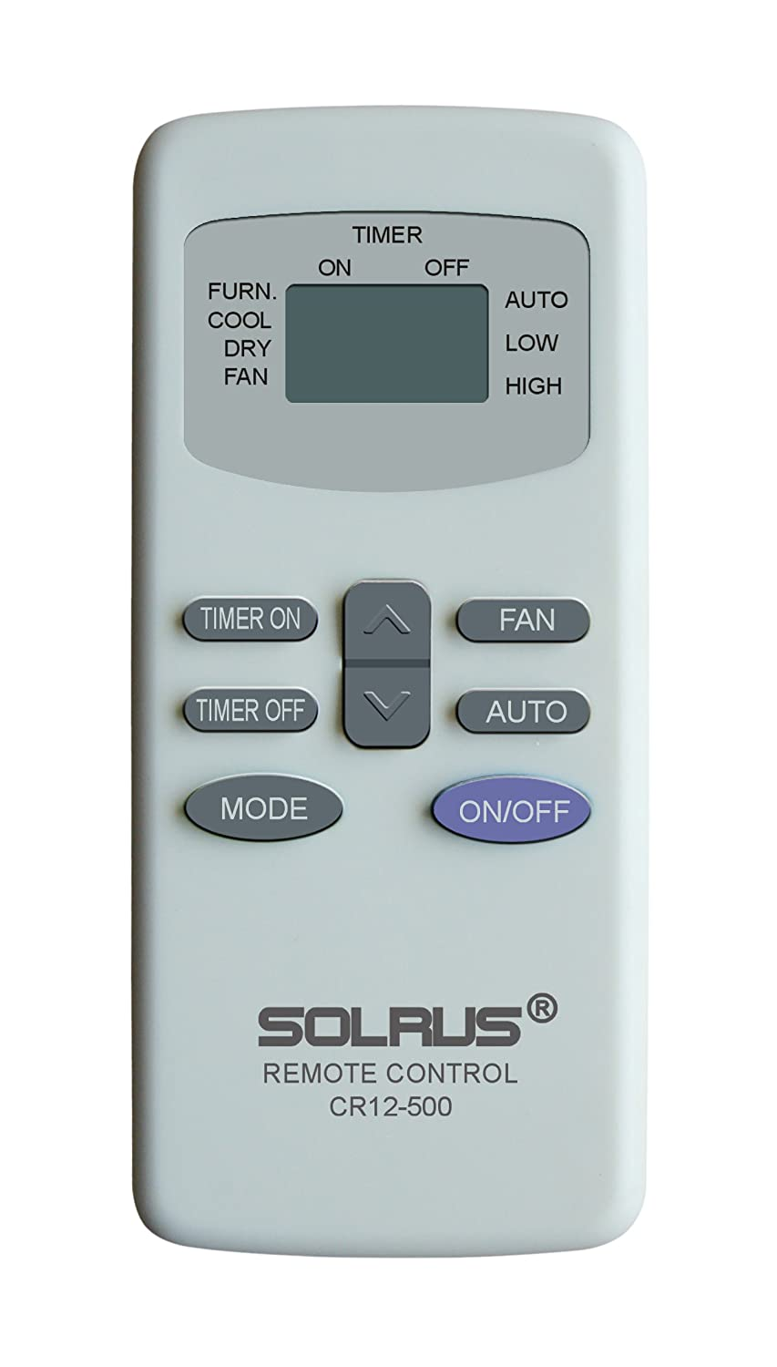 Carrier Airv RV Remote Control Replacement By Solrus CR12-500