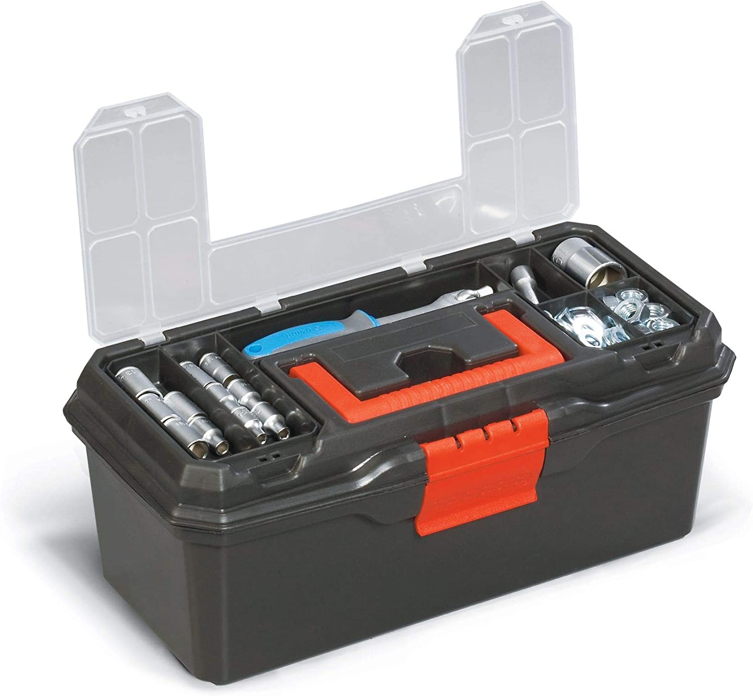 FINDER QX194123 Tool Box 13-Inch Consumer Storage Toolbox