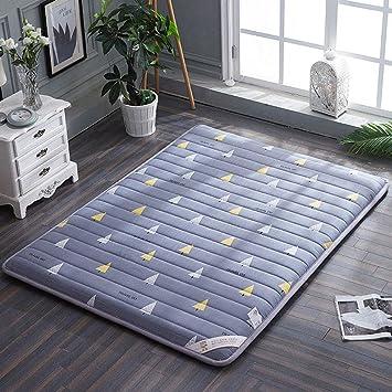 WangYi El colchón- Colchones engrosados, tapetes, esteras para Dormir, Cama Perezosa,