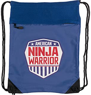 Amazon.com: American Ninja Warrior mochila de Cinch negro ...