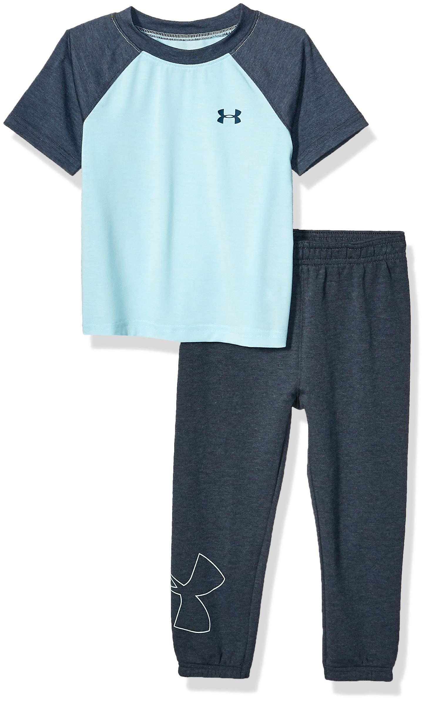 Under Armour Boys' Short Sleeve Tee and Pant Set