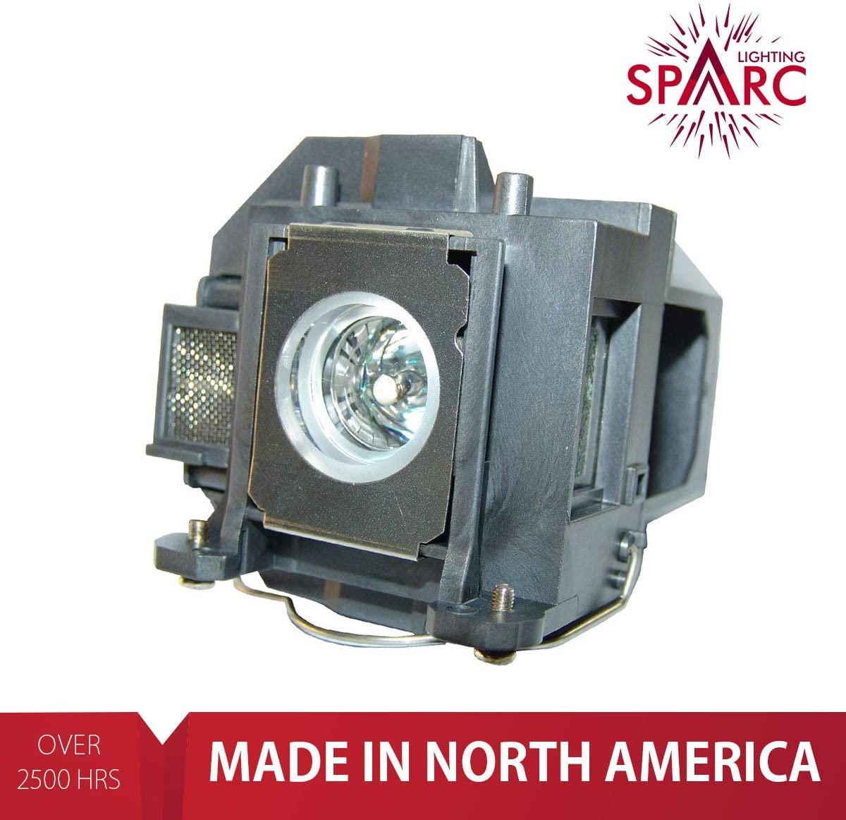 SpArc Lighting for Epson ELPLP57 V13H010L57 Projector Lamp with Enclosure fits BrightLink 450Wi 455Wi PowerLite 450W PowerLite 460 EB-440W EB-450W EB-460 EB-465i H318A H343A