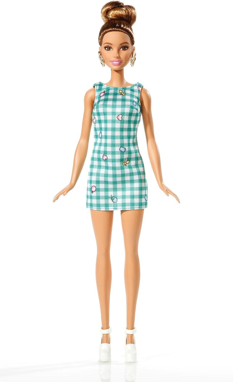 Amazon.es: Barbie - Fashionista, muñeca con Vestido Lima (DVX72 ...