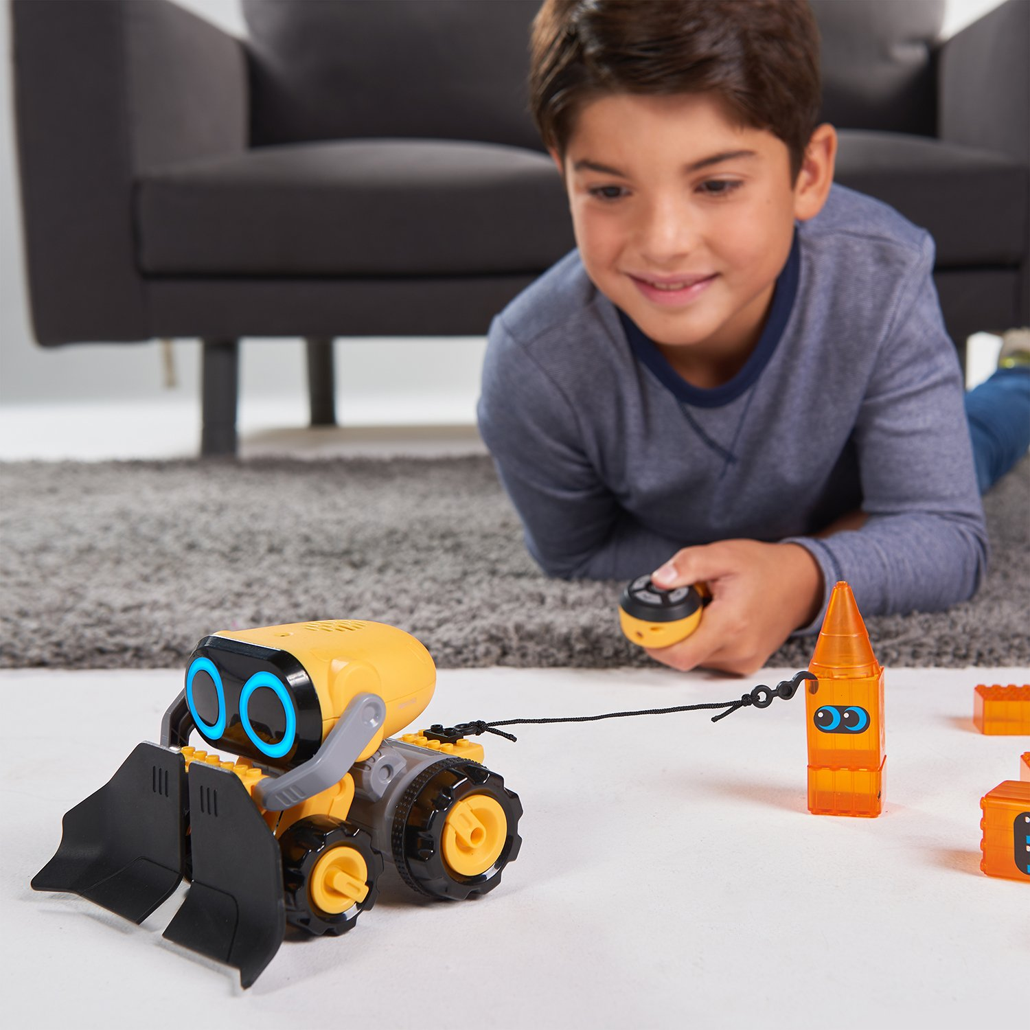 The Botsquad - Joe Plow - the path clearing remote control interactive robot toy -  by WowWee by WowWee (Image #7)