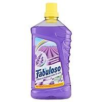 Fabuloso - Nettoyant pour le nettoyage de la maison, parfum lavande–4pièces de 1l [4l]