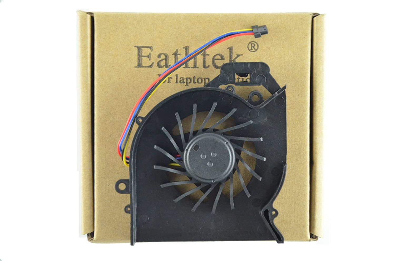 Eathtek New CPU Cooling Cooler Fan for HP Pavilion dv7-6b01xx dv7-6b32us dv7-6b55dx dv7-6b56nr dv7-6b57nr dv7-6b63us dv7-6b71nr dv7-6b73nr dv7-6b75nr dv7-6b77dx dv7-6b78us dv7-6b86us dv7-6b91nr dv7-6c20us dv7-6c21nr dv7-6c22nr dv7-6c23cl dv7-6c27cl dv7-6c3