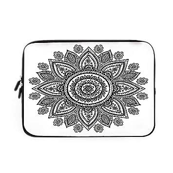 Amazon Com Henna Laptop Sleeve Bag Neoprene Sleeve Case Sunflower