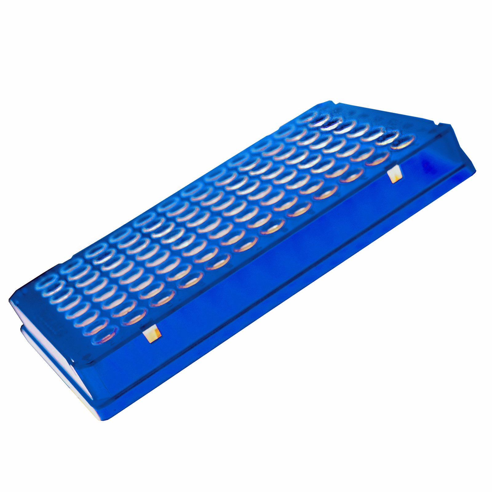 Eppendorf 951022003 Polypropylene Twin.tec Real Time PCR Plate with 96 Skirted Wells, Blue Border (Pack of 25)