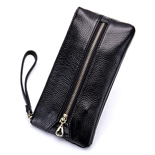 premium selection f19cd a74d3 Aladin Leather Wristlet Wallet with Cell Phone Holder, Key Hooks and Card  Slots Iphone 7 Plus 6S Galaxy S7 Note 5 for Women