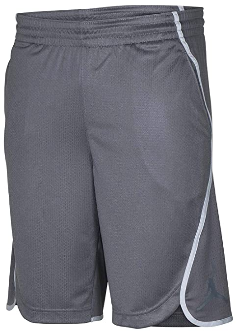 e441a180ac74 Image Unavailable. Image not available for. Color  Jordan Men s Dri-Fit Nike  Flight Victory Basketball Shorts-Dark Grey-Large