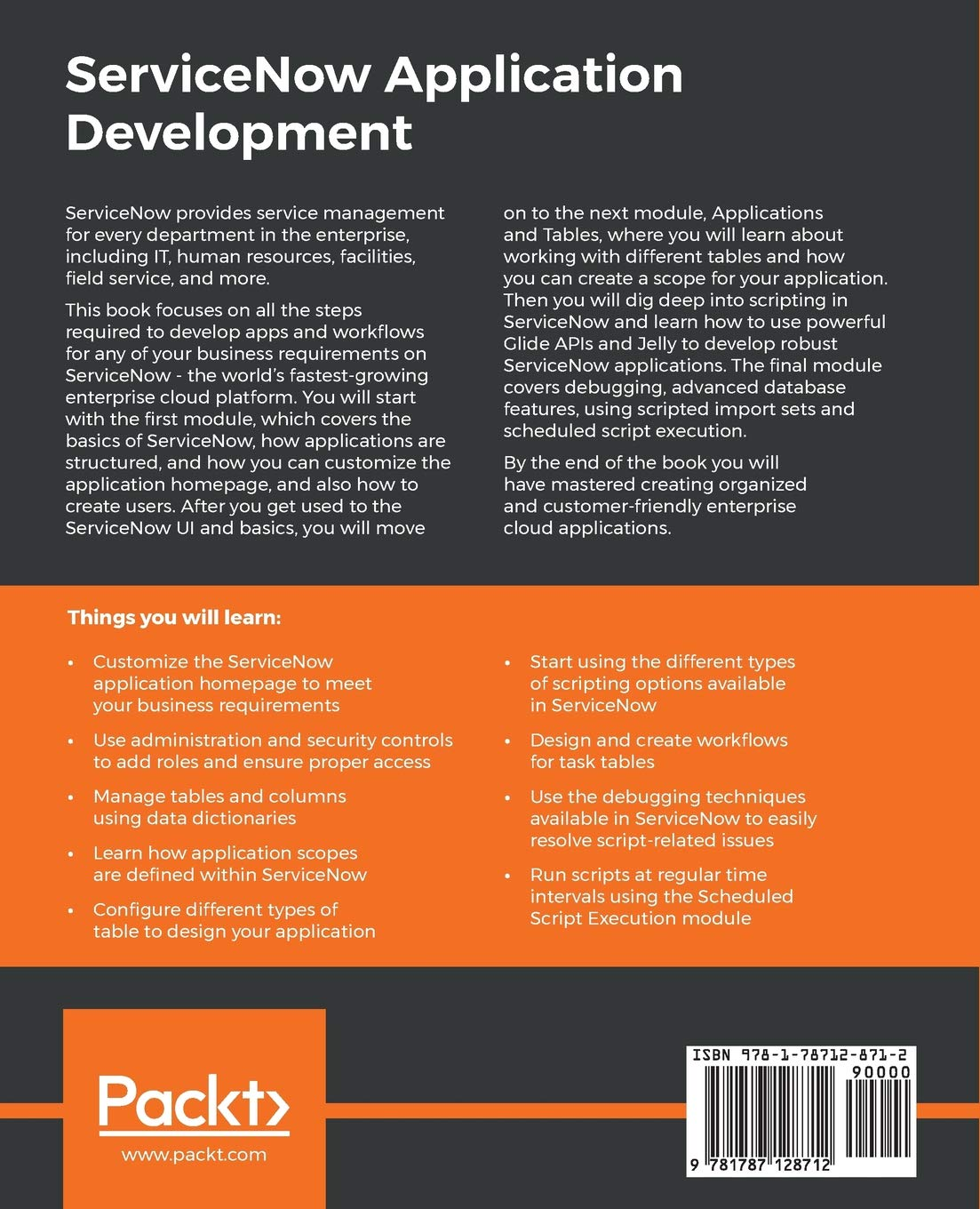 Buy ServiceNow Application Development Book Online at Low Prices in