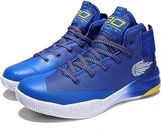 GAOLIXIA Hommes Couples Mesh Basketball Chaussures D'été Anti-dérapant Sport Casual Chaussures Unisexe Chaussures de Course Athlétique Compétition Fitness Sneakers