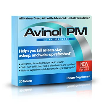 Avinol PM Extra Strength   All-In-One Natural Sleep Aid for Deep Restful