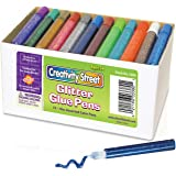 Creativity Street Glitter Glue Pens, 10 CC Tube, Assorted Colors, Set of 72