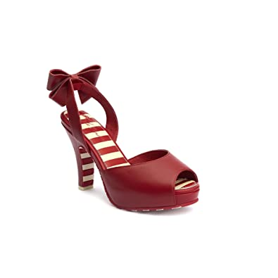 Lola Pour Rouge Eu 37 Escarpins Femme Ramona Rouge Sw4qwP