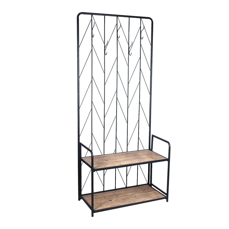 Vidal Regalos Mueble Entrada Casa Perchero Metal 178 cm ...