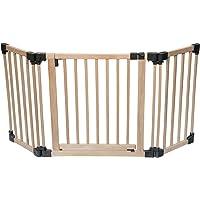 Barrera de seguridad multiuso Safetots de madera (96,5-176,5