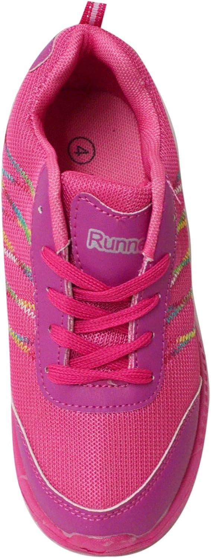 Little Kids//Big Kids Neon Color Pop Running Athletic Sport Sneakers Runner Shoes
