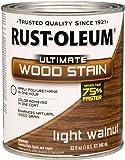 RUST-OLEUM 260160 Quart Lt Walnut Interior Wood Stain