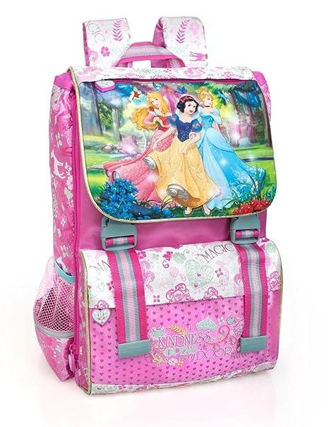 Princesas Disney 10612 Mochila Infantil, 40 Centímetros, Premium, Multicolor, Cenicienta, Aurora