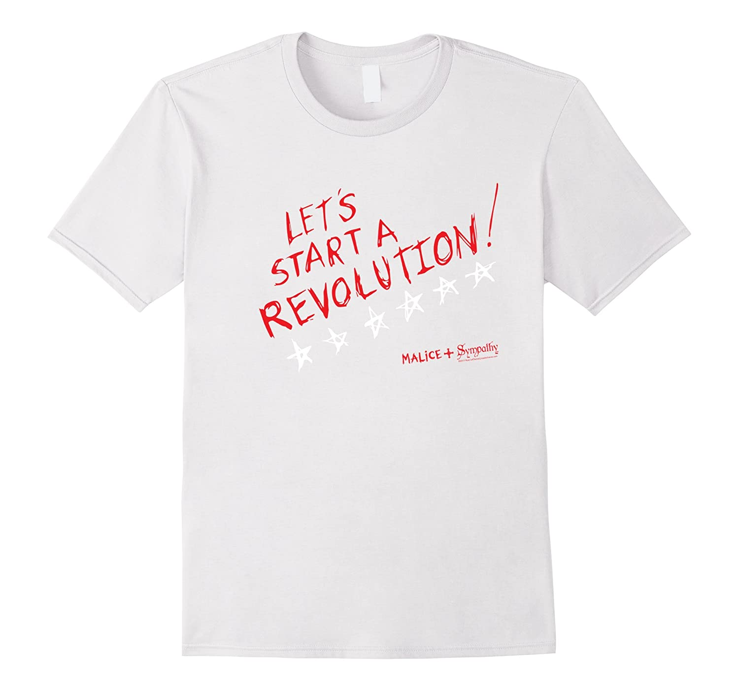 Lets Start A Revolution Memorial Day - 4th of July Shirt-Vaci