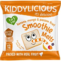 KIDDYLICIOUS Banana Mango & Passion Fruit Melts, 6 gm