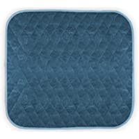 "Americare Absorbent Washable Waterproof Seat Protector Pads 21""x22"" - BLUE"