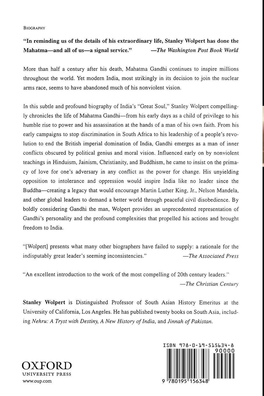 short description of mahatma gandhi