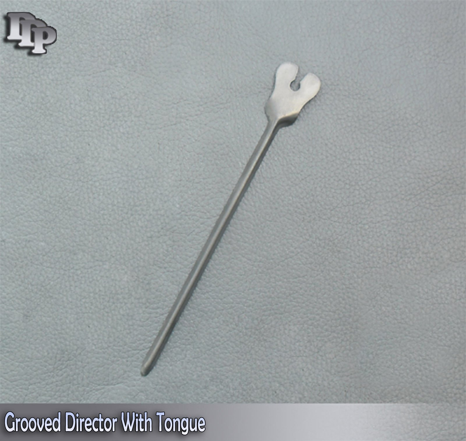 Grooved Director with Tongue Tie 5.5''