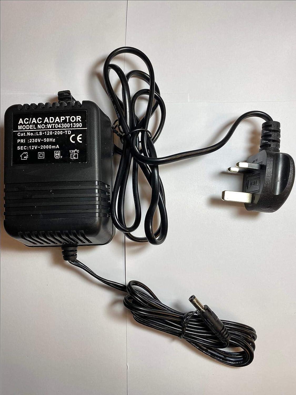 Repuesto para Adaptador de CA CZJUTAI JT-12V2100 12 V 2100 mA 25.2 VA árbol de Fibra óptica