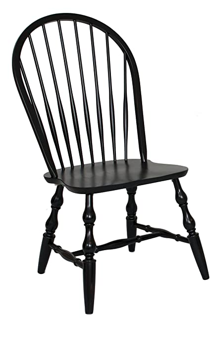 Sunset Trading DLU-C30-AB-2 Windsor Spindle back Dining Chair Set  sc 1 st  Amazon.com & Amazon.com - Sunset Trading DLU-C30-AB-2 Windsor Spindle back Dining ...
