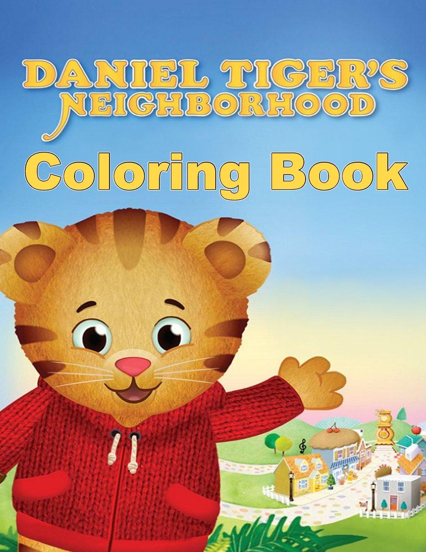 Amazon.com: Daniel Tiger\'s Neighborhood Coloring Book: One of the ...