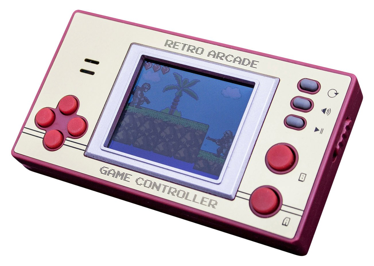 Retro Pocket Games with LCD Screen by Thumbs Up UK