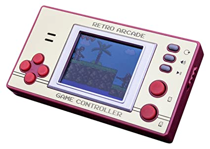 Thumbsup UK, ORB, Retro Pocket Games with LCD Screen, OR-RETARCCTL