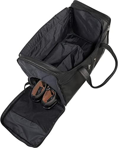 Le Donne Leather Classic Cabin Duffel Bag Cafe