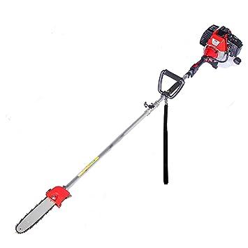 Podadora de Altura KUDA 52 cc 2cv reales 25 cm de espada con motor de gasolina: Amazon.es: Bricolaje y herramientas