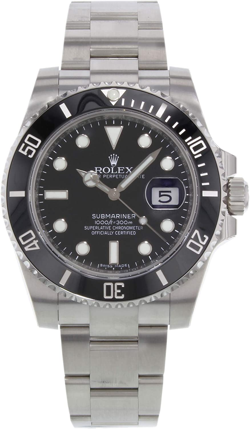 Image of Certified Pre-Owned Rolex Submariner Automatic-self-Wind Male Watch 116610